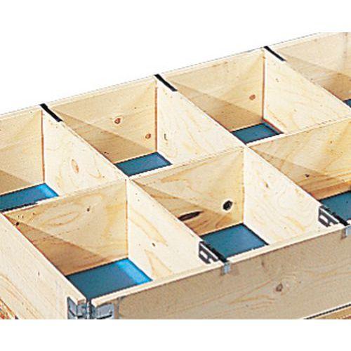 Divisórias para extensões em madeira