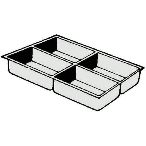 Compartimento de arrumação para gavetas - 3 cm  - Clen