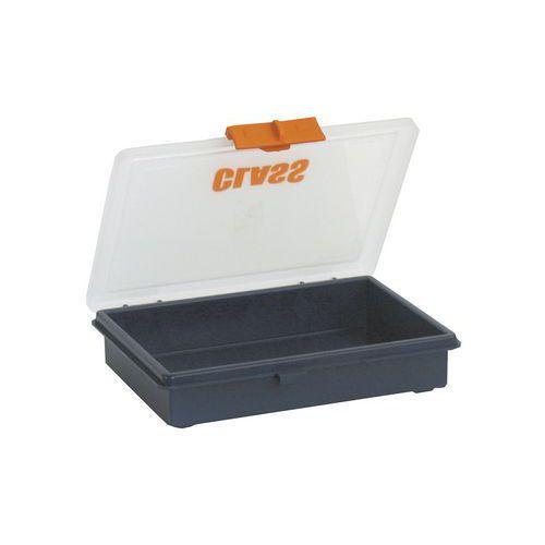 Caixa com compartimentos fixos