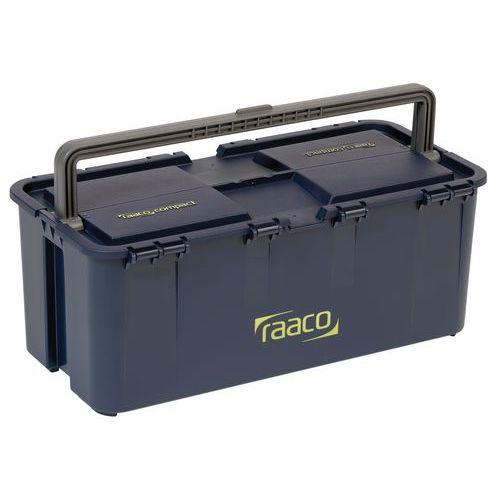 Caixa de ferramentas compacta - Com pega central