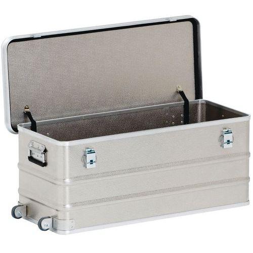 Caixa de transporte móvel em alumínio de 105 a 150L