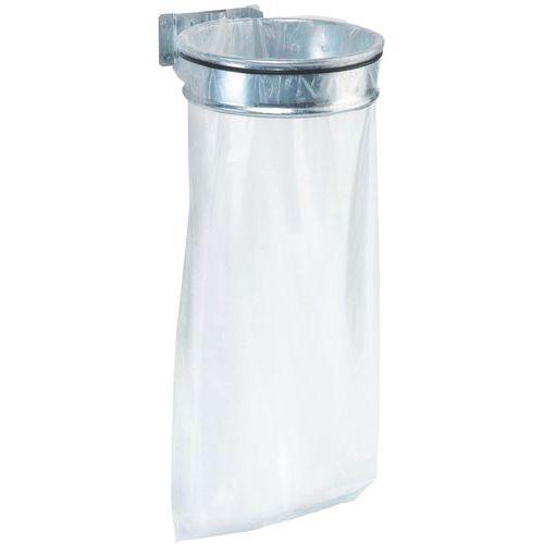 Suporte para saco de lixo sem tampa para o exterior – 110 L - Manutan