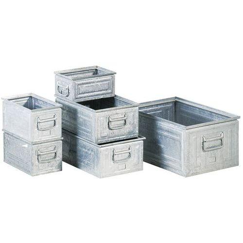 Caixa de transporte em aço - Comprimento 300 a 600 mm