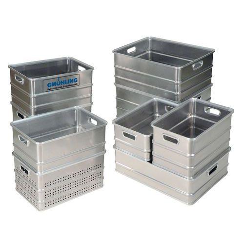 Caixa de transporte em alumínio - Comprimento de 578mm