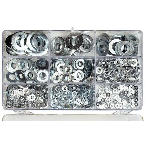 Caixa de anilhas planas - 825 peças