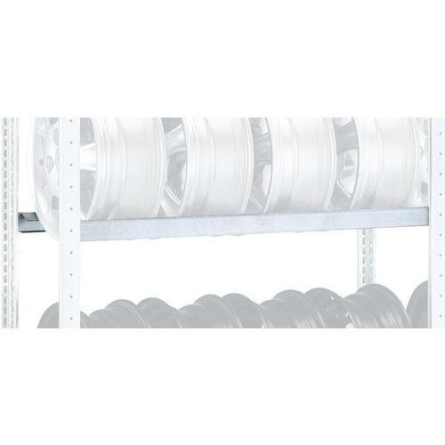 Travessa para estante para pneus Rota-Store – unitário - Schulte