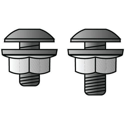 Conjunto de fixação para Estante Quick-Fix Plus
