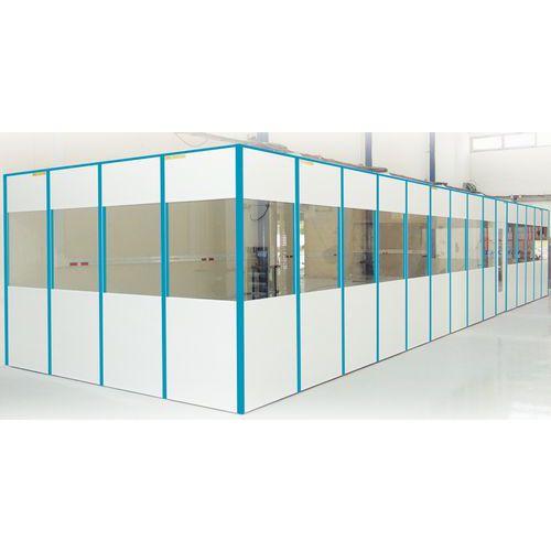 Ligação para divisória simples parede em melamina - Altura 3030 mm