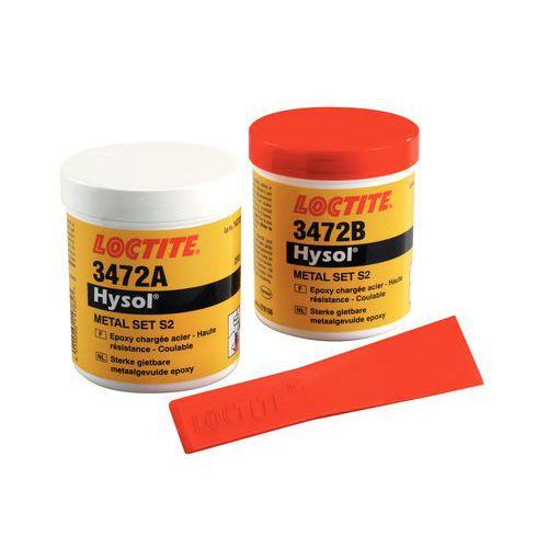 Resina epóxi Loctite - Aço fluido Hysol 3472
