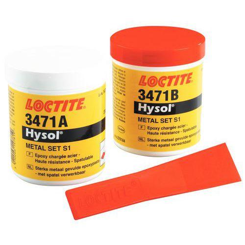 Resina epóxi Loctite - Aço pastoso Hysol 3471