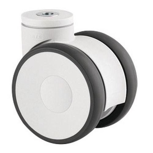 Rodízios giratórios com olhal para móvel – Capacidade de carga de 110 kg