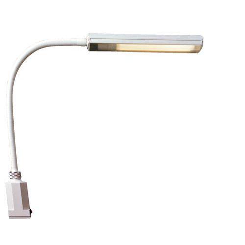Candeeiro fluorescente flexível para laboratório - 11 W