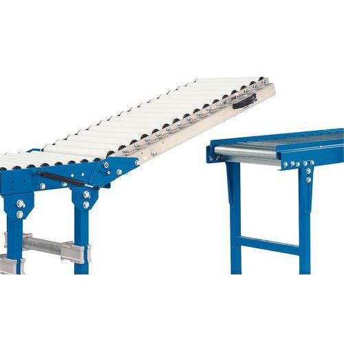 Portinhola rebatível - Para transportador rolo comprimento 500 mm