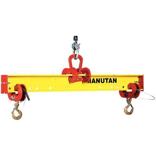 Balanceiro ajustável - Capacidade de 1000 a 5000 kg - 2 a 3 m