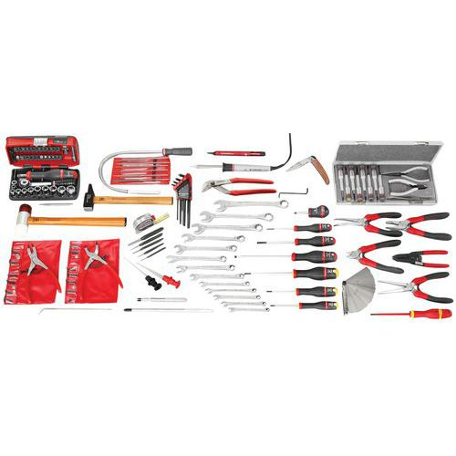Selecção electromecânica - SAV de 113 ferramentas