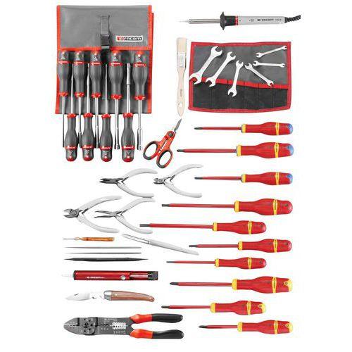 Selecção electrónica de 50 ferramentas