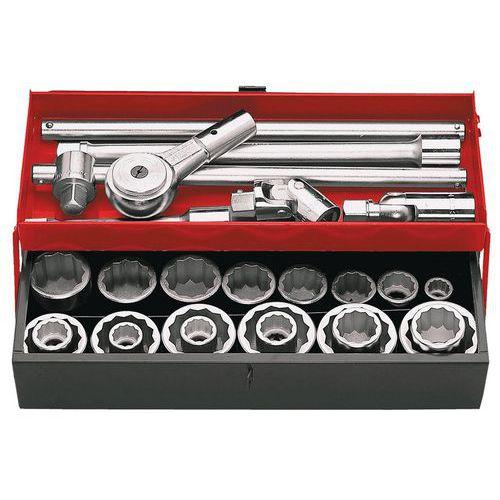 Caixa de chaves de caixa 3/4 12 faces em polegadas - K.442U