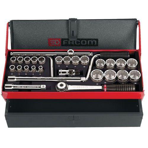 Caixa de chaves de caixa 1/2 12 faces métricas - S.442EP