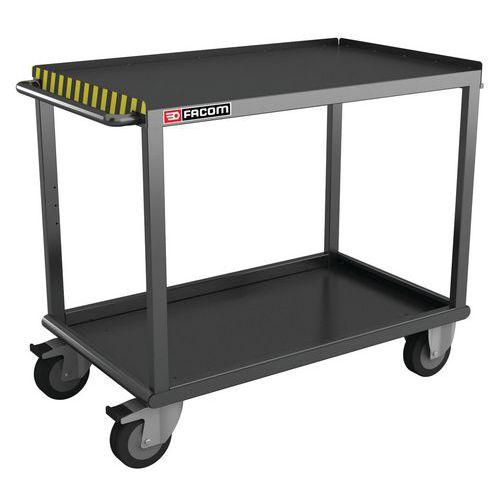 Mesa móvel para cargas pesadas