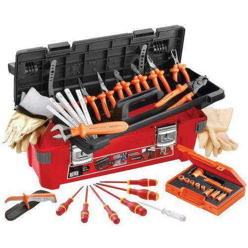 Selecção de 20 ferramentas isoladas 1000 V