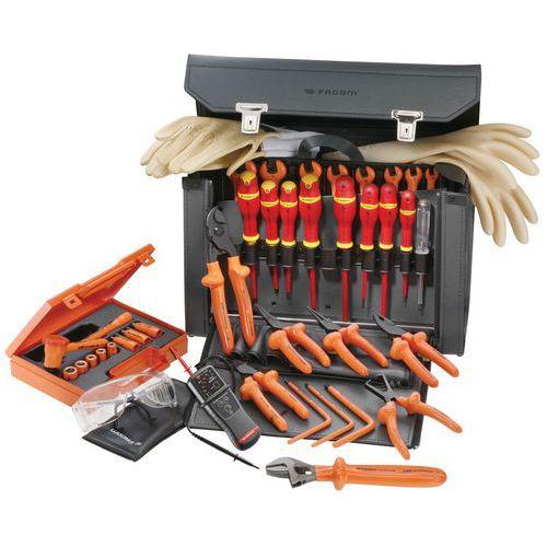 Selecção de 32 ferramentas isoladas 1000 V