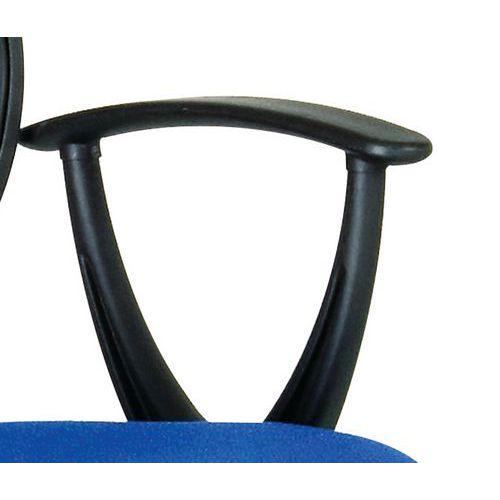 Apoio fixo para braços para cadeira de escritório Beta