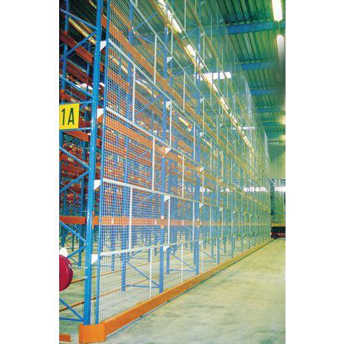 Proteção da estante – Grade antiqueda – 2400 mm de comprimento