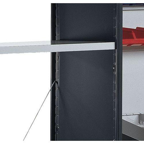 Calha para caixas de bico para Estante Multi-Fix Premium - Manorga