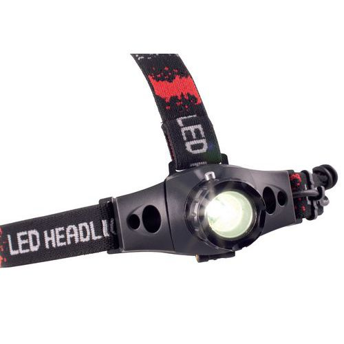 Lanterna frontal LED CREE Q5 - 160 lm