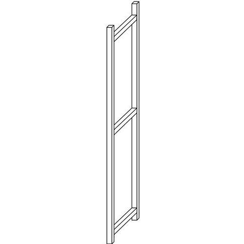 Ilharga aberta para Estante Multi-Fix Premium - Altura 2500 mm