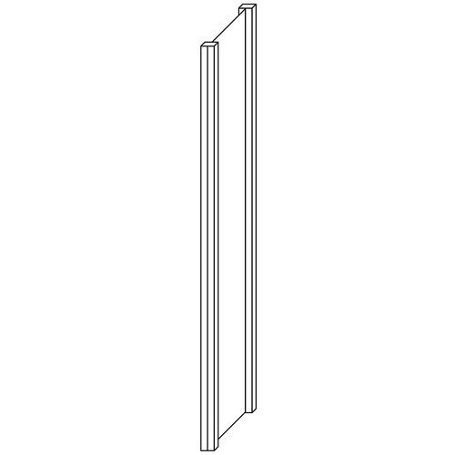 Ilharga fechada para Estante Multi-Fix Premium - Altura 2000 mm