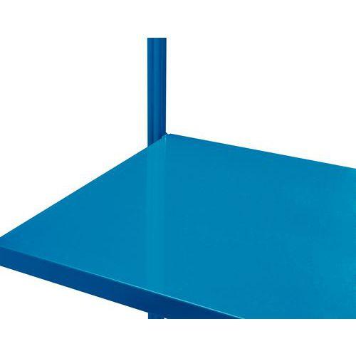 Prateleira integral para estante Massik - Profundidade 1000 mm