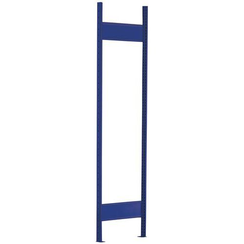 Ilharga para Estante Easy-Fix - Profundidade 500 mm - Azul