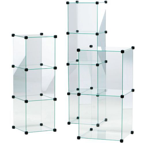 Vitrina Cubo - 3 elementos