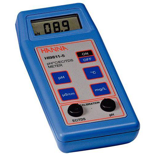 Medidor de pH/EC