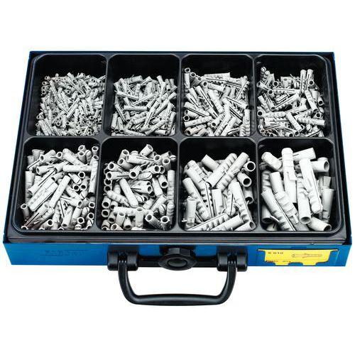 Caixa de buchas nylon - 720 peças