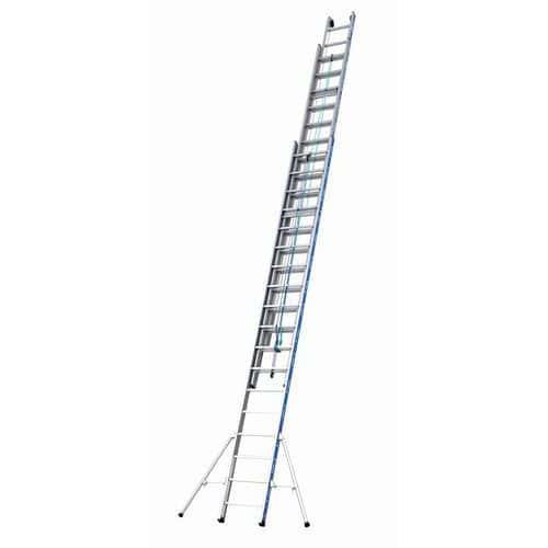 Escada extensível com corda – 3 secções