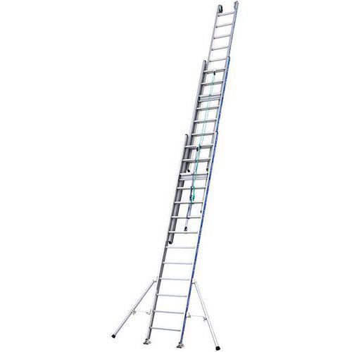 Escada deslizante tripla Platinium 500