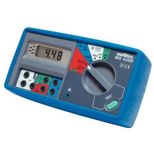 Controlador de instalação elétrica MX 435D