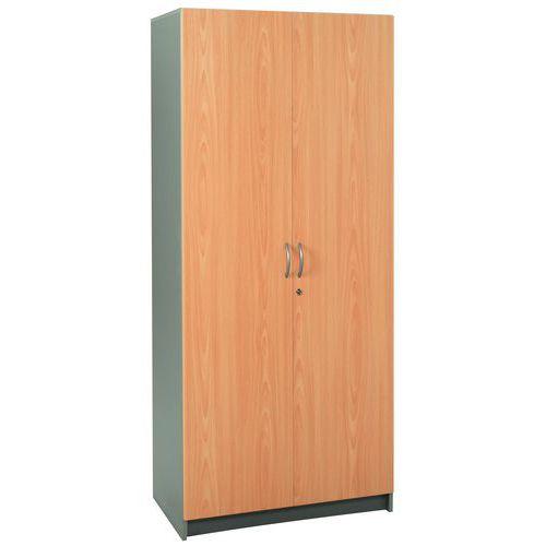 Armário com portas rebatíveis Basik - Alto