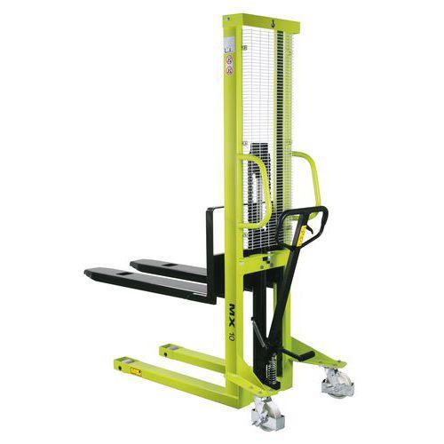 Empilhador manual MX1016 – Capacidade de 1000kg