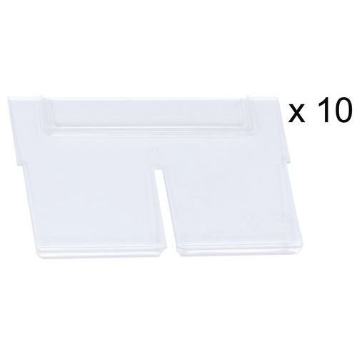 Separador longitudinal para caixas de múltiplos compartimentos