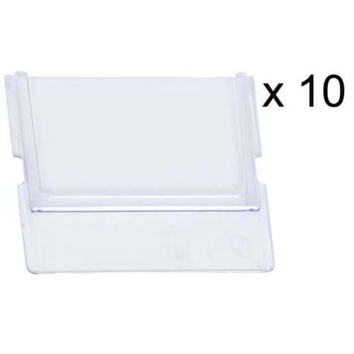 Separador transversal para caixas-gaveta de arrumação