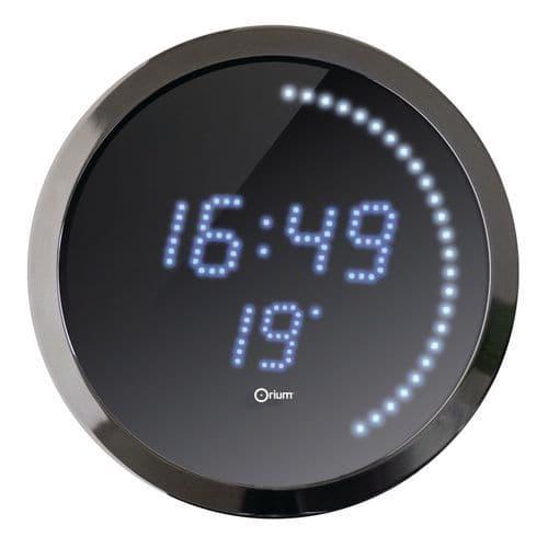 Relógio com LED azul – Orium