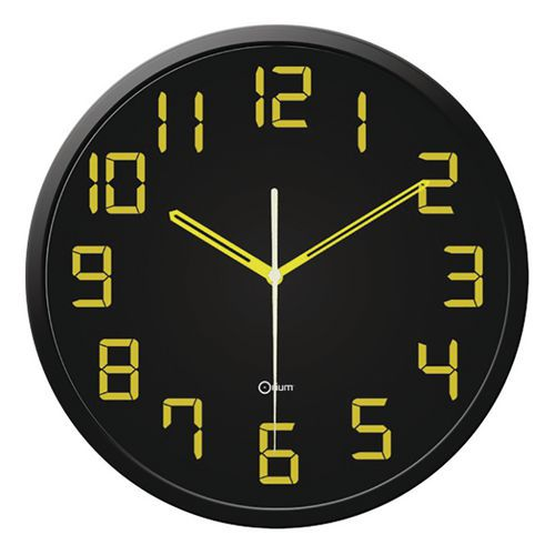 Relógio de parede silencioso Contrast de quartzo – Orium