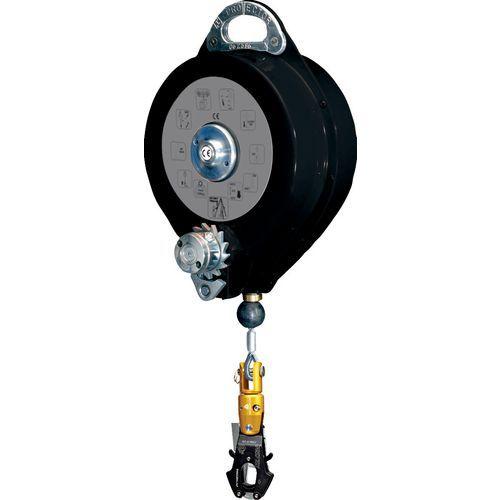 Anti-queda com curso de retorno automático em cabo com guincho + 1 am020 - 20 m
