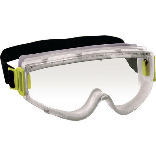Óculos panorâmicos policarbonato incolor