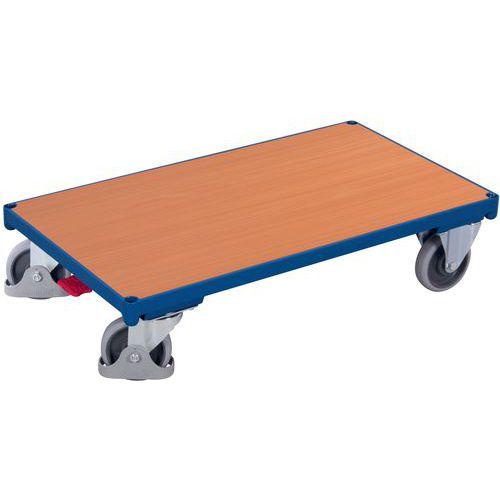 Plataforma móvel ergonómica em madeira – Capacidades de 400 e 500kg