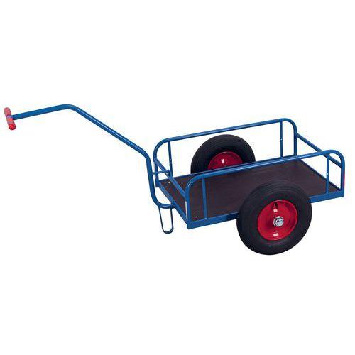 Carro com braços e tubos em aço – Capacidades de 200 e 400kg