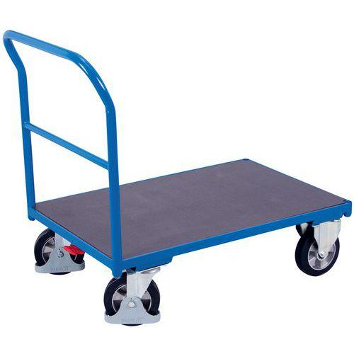 Carro ergonómico de plataformas antiderrapante – Capacidade de carga de 1000kg